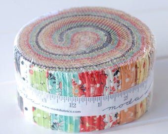 Chestnut Street Jelly Roll by Fig Tree and Co, for Moda Fabrics