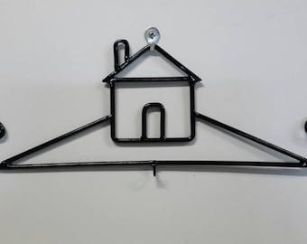 Decorative Metal House Calendar Hanger