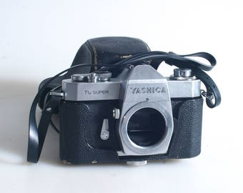 Yashica Camera Tl Super 35Mm Body Vintage Made In Japan