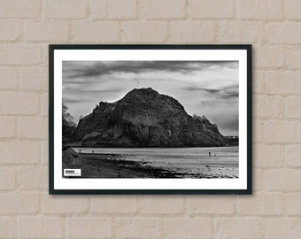 Dumbarton Rock / Dumbarton Castle / Scotland / Landscape / Wall Art Print