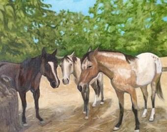 Horsey Trio