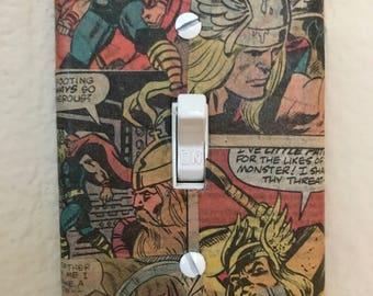 Comic Book Light Switch