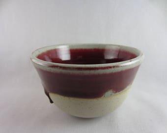 Medium red bowl