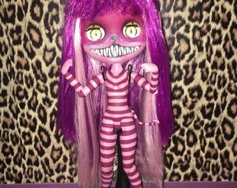 Blythe custom cheshire cat alice in wonderland doll OOAK
