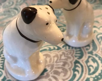 Vintage Ceramic RCA Victor Dog Salt and Pepper Shaker