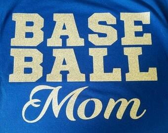 Baseball Mom, Baseball Mom T-Shirt, Mom Shirt