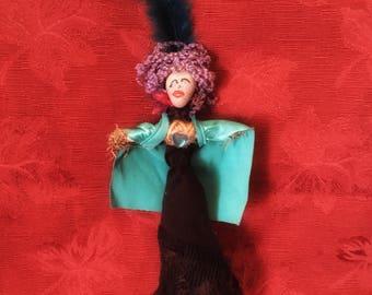 Voodoo Doll La Sirene Haitian voodoo Lwa of Wealth Authentic Handmade New Orleans