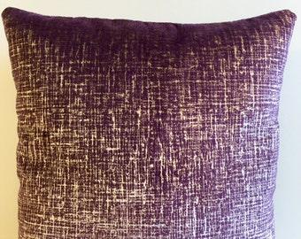Purple Velvet Pillow Cover, Pillow Velvet, 18X18 Purple Pillow, Designer Pillow, Velvet Pillows, Velvet Cushion Covers, Purple Sofa Pillow