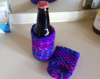 Can or Bottle Cozies Set of Two