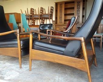 Milo Baughman Mid Century Modern Chair