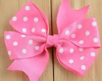 3 inch pinwheel bow
