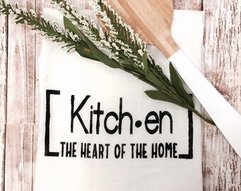 Kitchen Tea Towel-Bar Towel-Farmhouse Style Towel