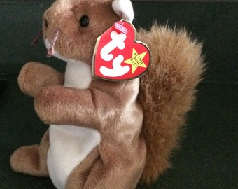 Nuts squirrel Ty beanie babies!