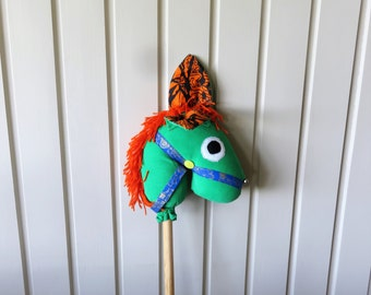 Hobby horse, ride-on stick horse