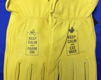 Personalized Deer Skin Gloves