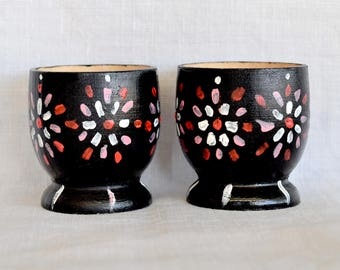 Black Egg Cups