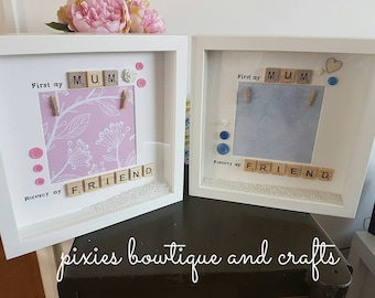Mothers Day/Gift for Mum Beautiful Scrabble Frames