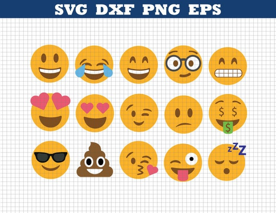 Emoji Svg,Emoji Collection Svg,Emoji Svg files,Emoji clipart ...