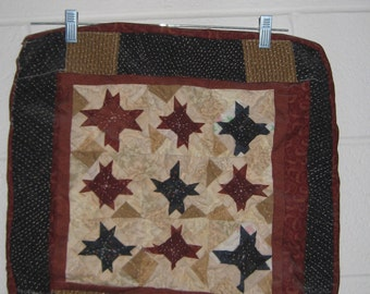 Pieced Hand Quilt Wall Hangings