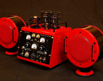 One of a kind Single-Ended Triode Tube Amplifier