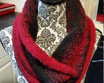 Fire And Coal Knit Cowl