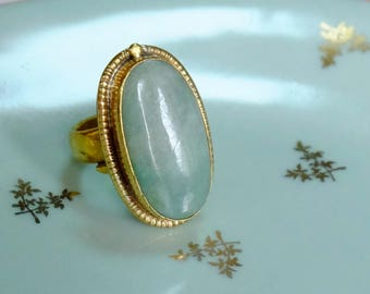 Guatemala - Misty jade ring