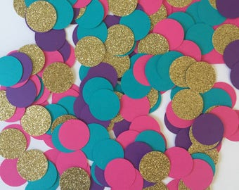Shimmer and Shine Birthday, Shimmer and Shine Birthday Decorations, Shimmer and Shine Party, Paper Confetti, Table Confetti, Pink Confetti