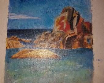 Ocean Landscape 9 by 5