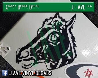 Crazy Horse Decal
