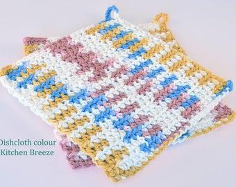 Crochet Dishcloths Kitchen Breeze