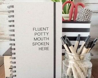 Gift for best friend, writing journal, bullet journal, spiral notebook, sketchbook, weekly planner, dot grid notebook, lined journal  PM1