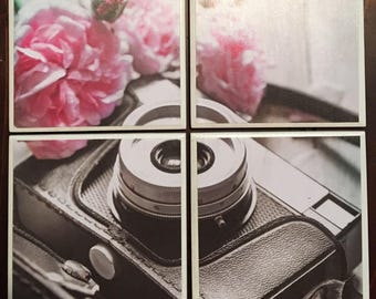 Camera Coasters (Set of 4) from Second Chance Charm