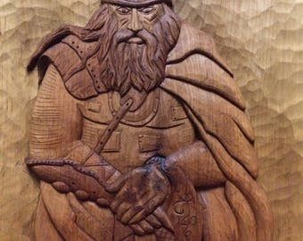 Woodcarving, handmade, carving on your sketch