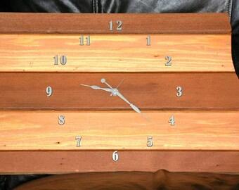 North Dakota Redwood clock