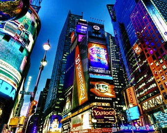 New York / Times Square / fabric panel / fabric / cushion /sewing supplies / craft supplies / digital print / cushions / upholstery / photo