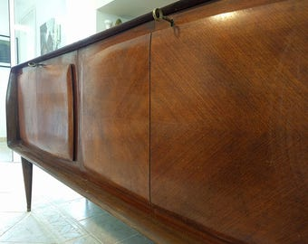 60 years-Cabinet buffet Hutch