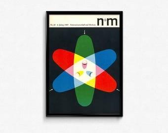 1969 German N+M Magazine Print #28-6