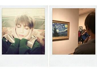 BTS V Boyfriend Material Polaroids