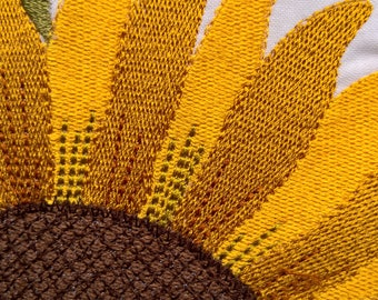 sunflower, gold and yellow
