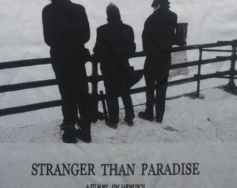 Stranger Than Paradise Cult Film T Shirt Jim Jarmusch