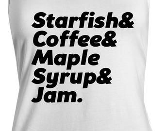 Starfish Coffee Maple Syrup And Jam Women's Tank Top