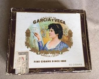 Cigar Box, Napoleons, Garcia y Vega