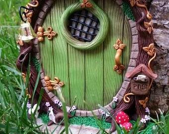 fairy door, creating fimo