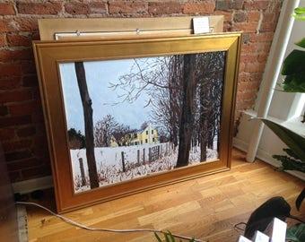 Winter's Color- original painting