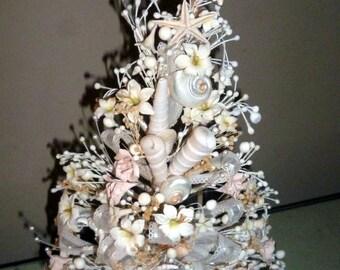 Antique/Vintage brides Bouquet wax flowers and buds 1940s -50s