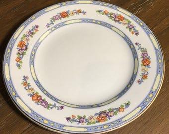 John Steventon & Sons 6 Inch Royal Venton Ware Pattern STV7 Dessert Plate