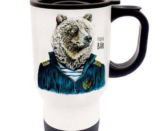 Thermo Cup Thermo mug Papa bear TB33