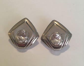 Vintage post earrings