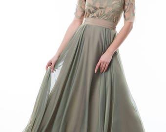 Prom/Wedding/Reception/Bridesmaid Flowy Dress