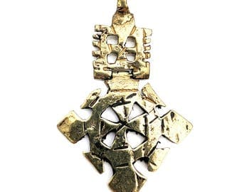 Hinged Ethiopian Coptic Cross